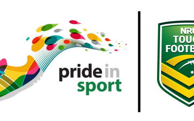 nrl touch and pride in sport partnership