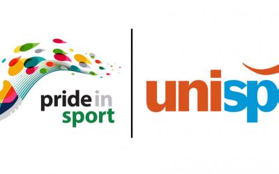 uni sport and pis logo