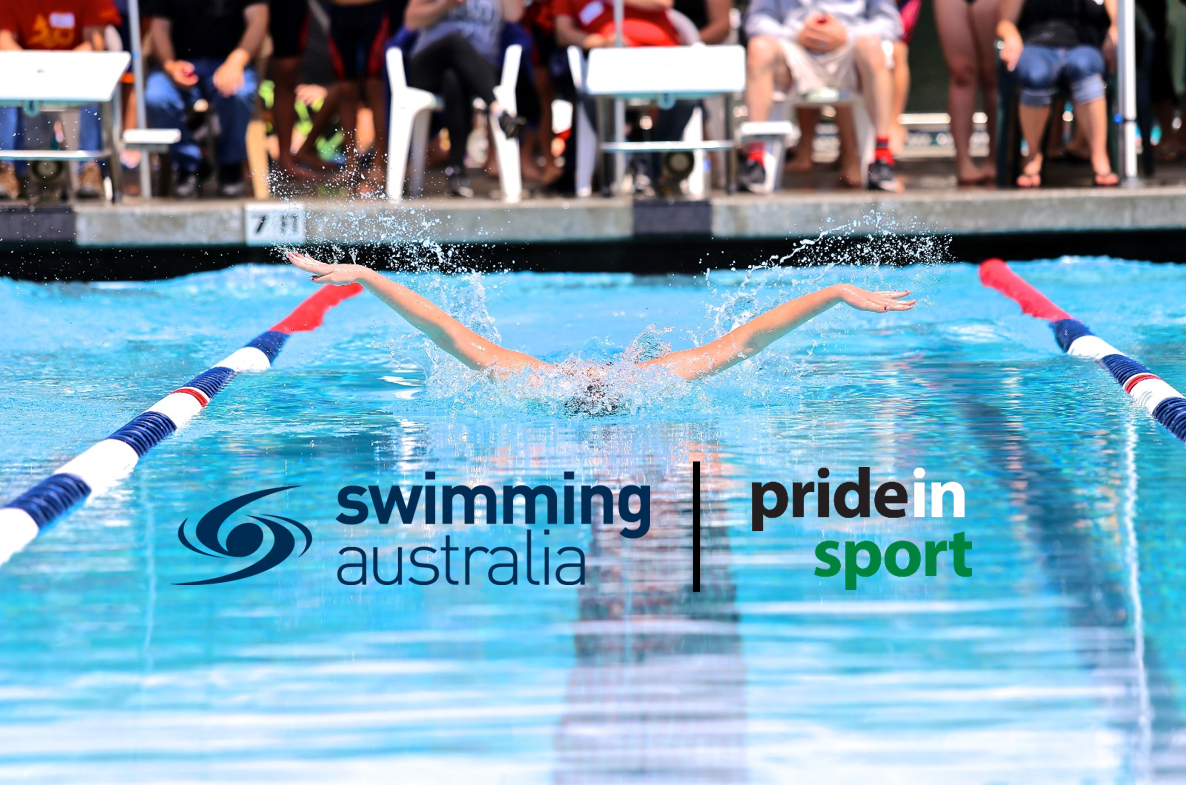 swimming aus and pride in sport cover