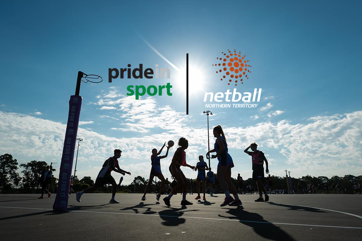netball nt and pride in sport cover